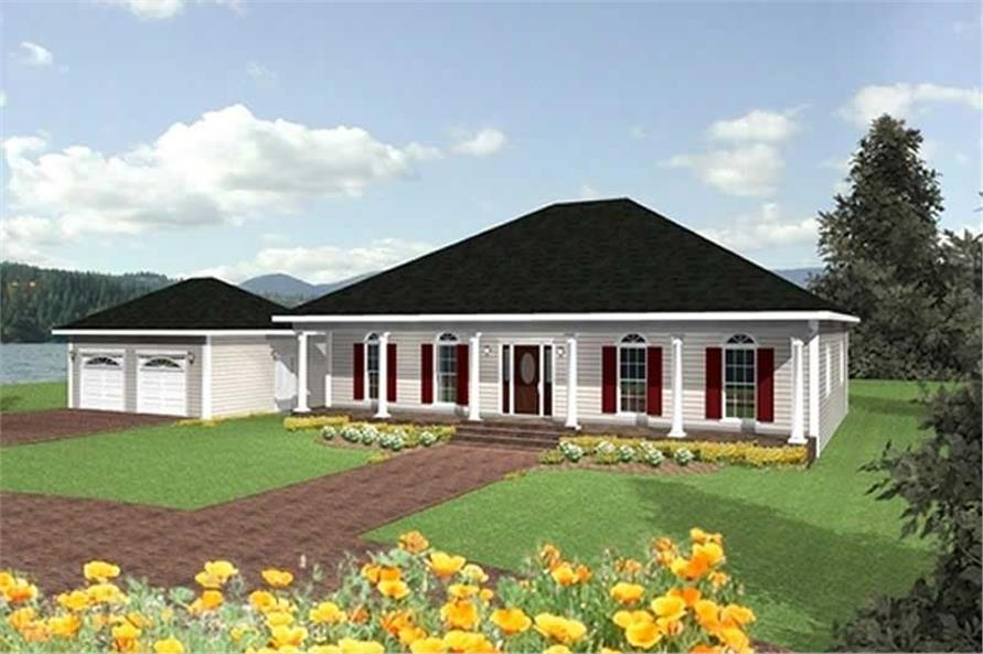 Main image for house plan # 16834