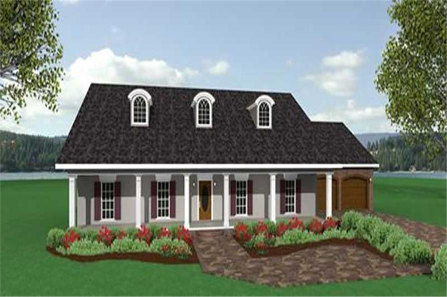 Main image for house plan # 16838