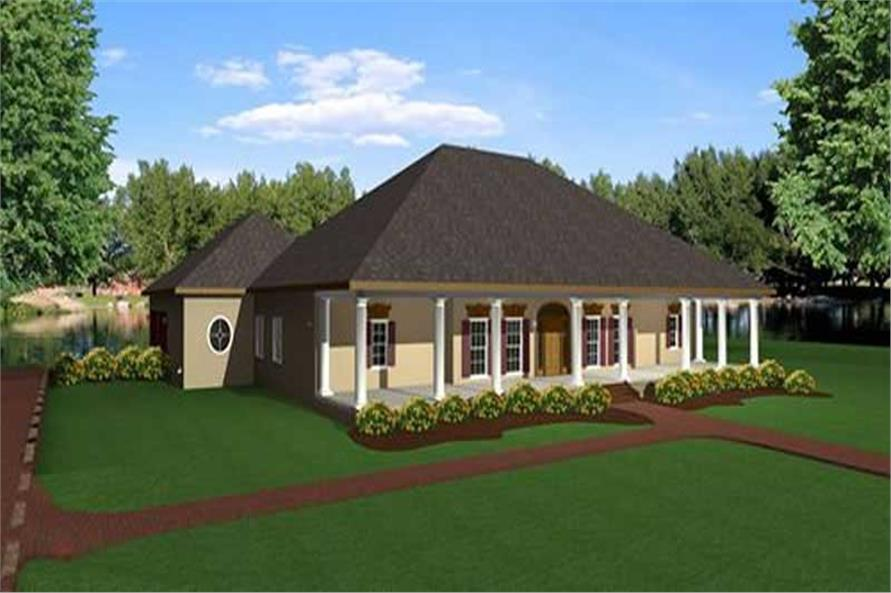 Main image for house plan # 16871