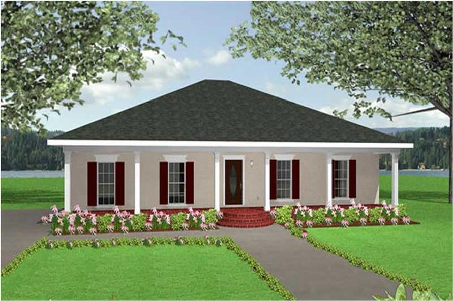 Main image for house plan # 16817