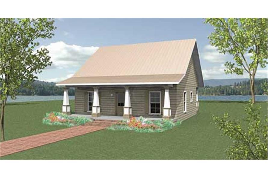 123-1045: Home Plan Rendering
