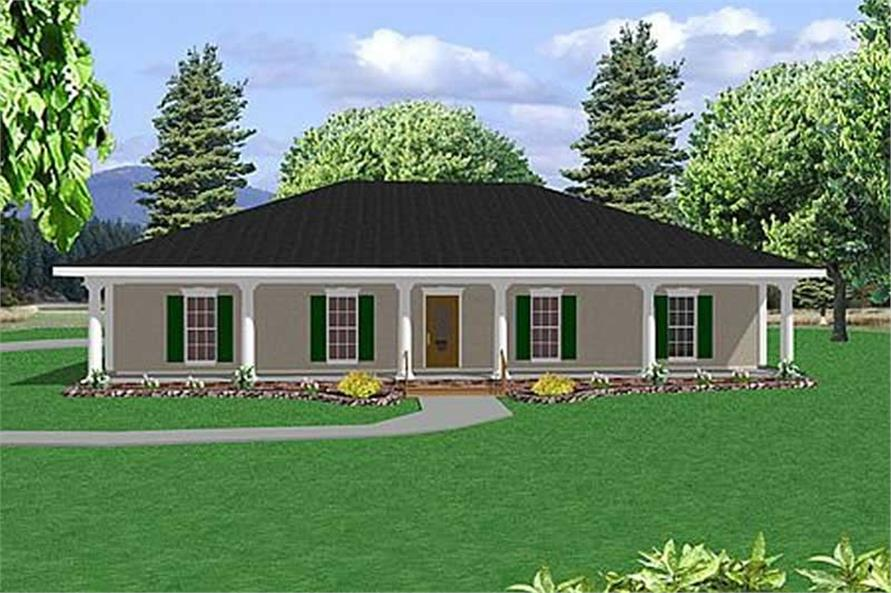 Main image for house plan # 4082