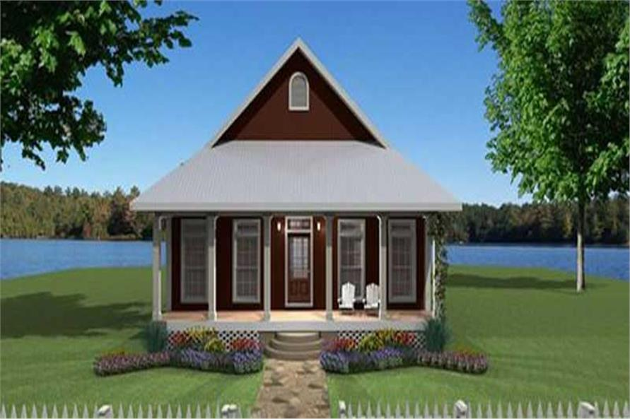 Main image for house plan # 19712