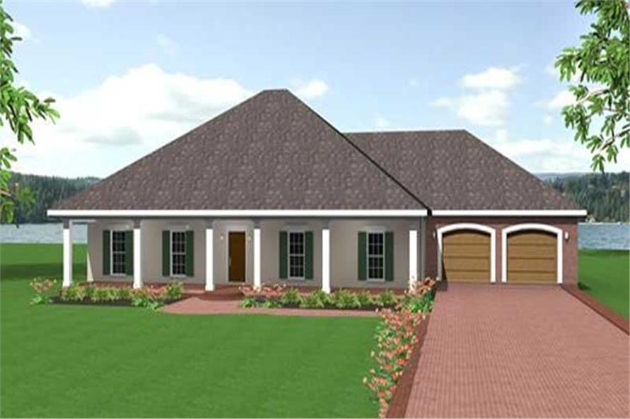 Main image for house plan # 16836