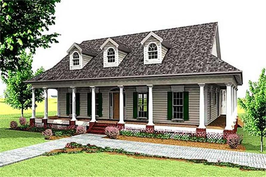 Main image for house plan # 16839