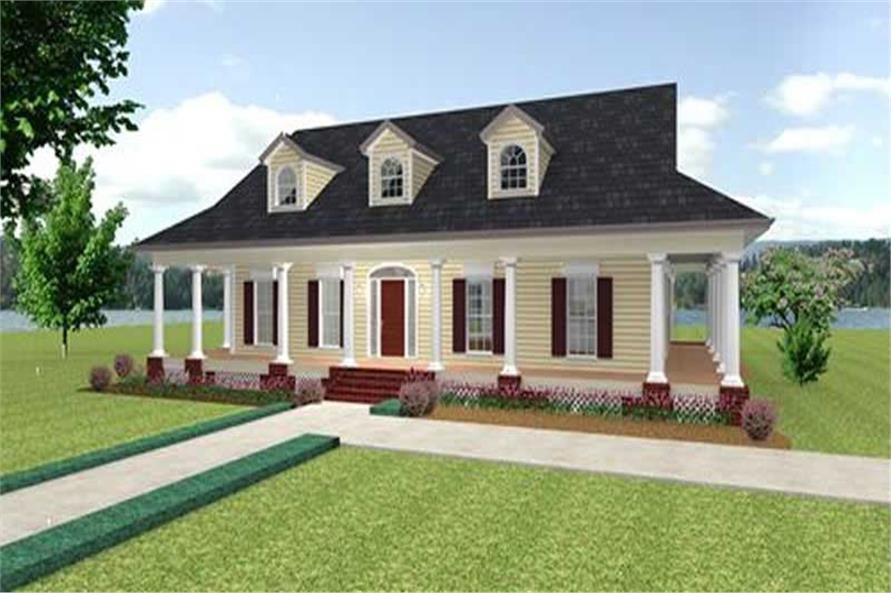 Main image for house plan # 16860