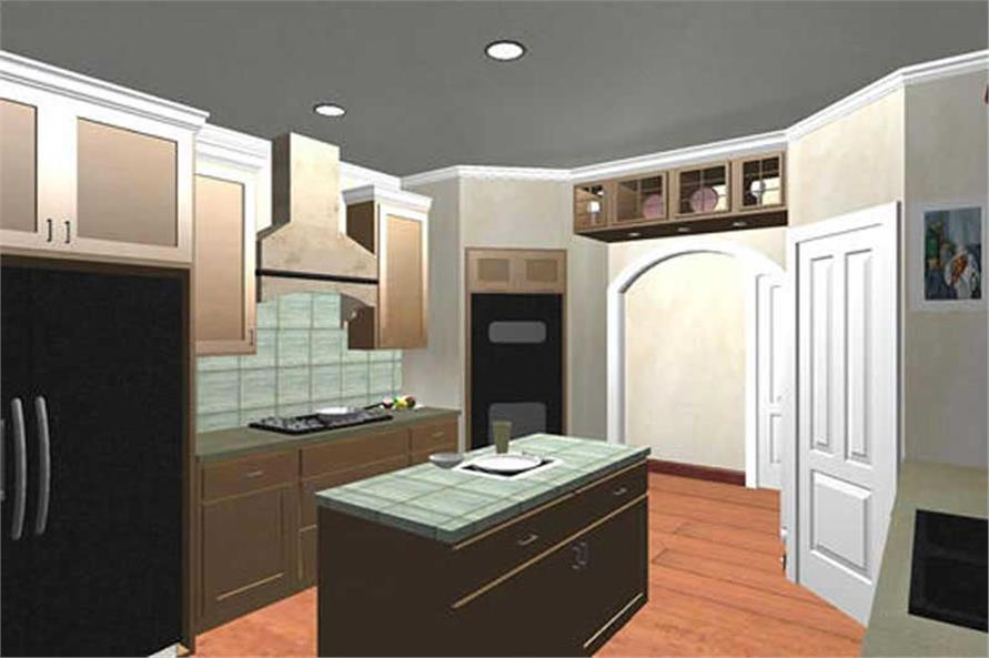 House Plan DH2300 Interior Perspective
