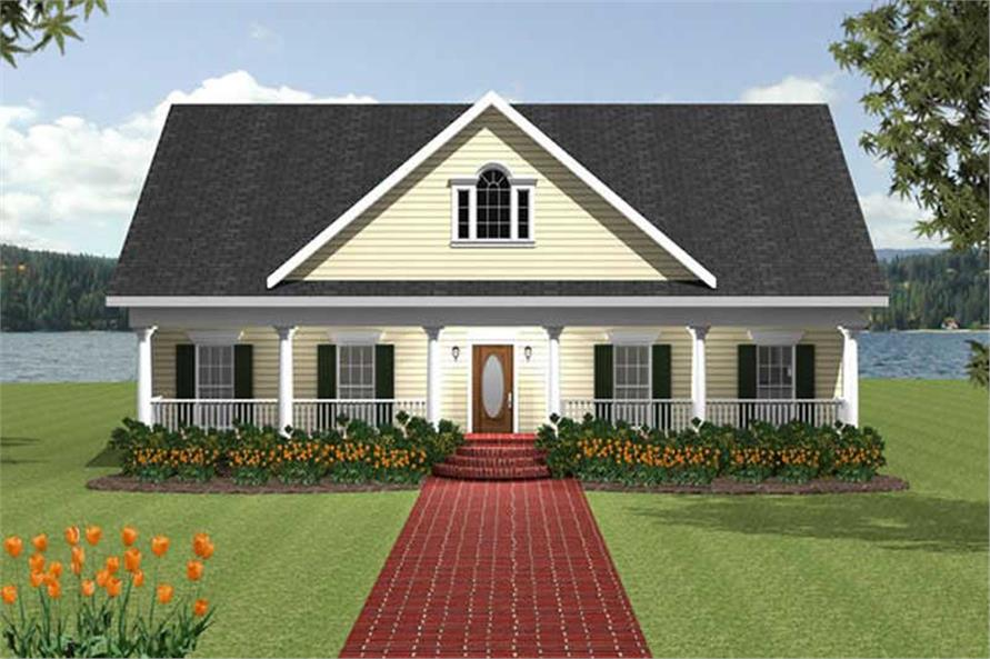 Main image for house plan # 19717