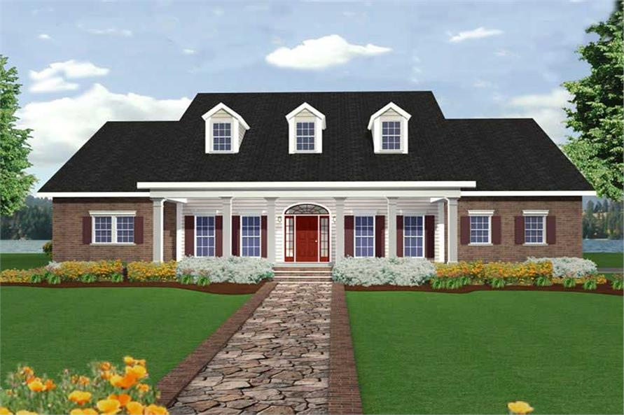 Main image for house plan # 19718