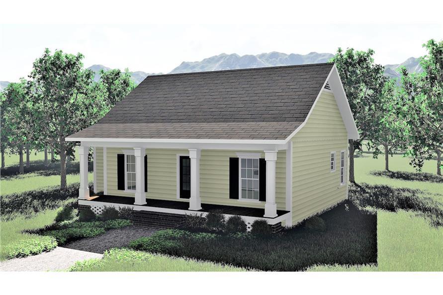 123-1084: Home Plan Rendering