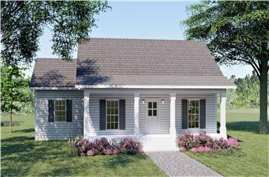 3-Bedroom, 1260 Sq Ft Country Home - Plan #123-1084 - Main Exterior
