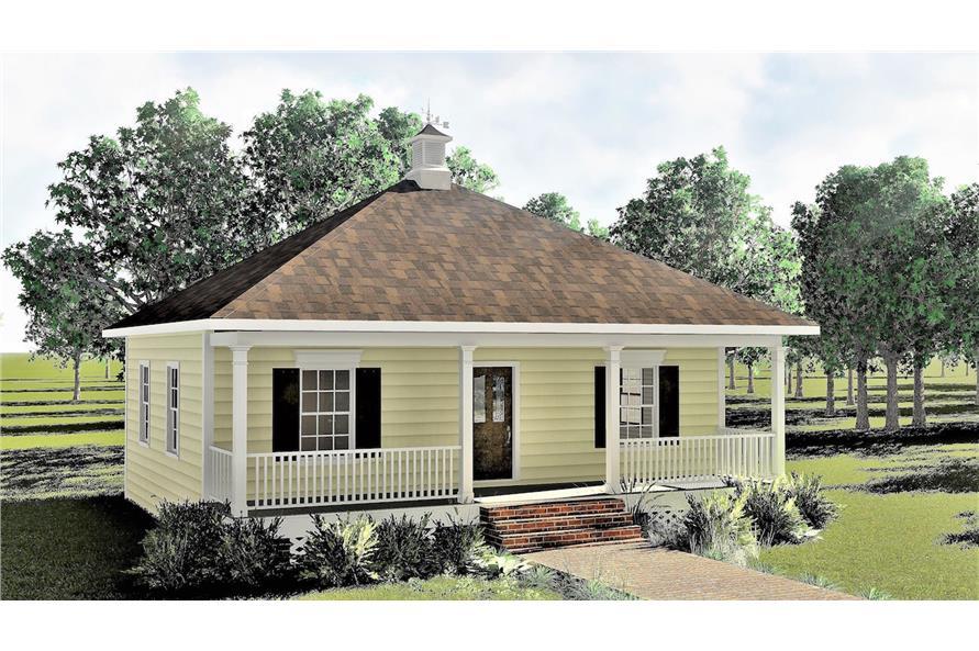 123-1085: Home Plan Rendering