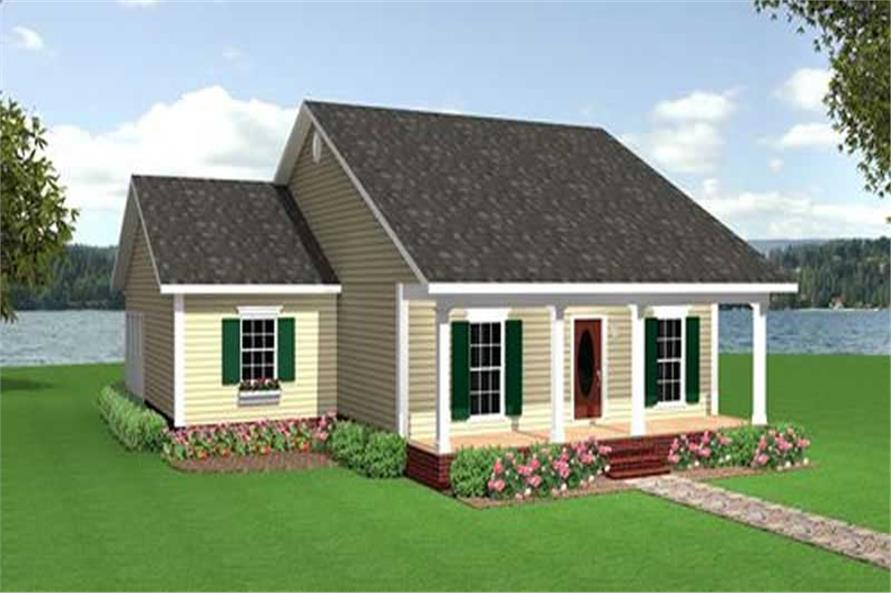 Main image for house plan # 16816