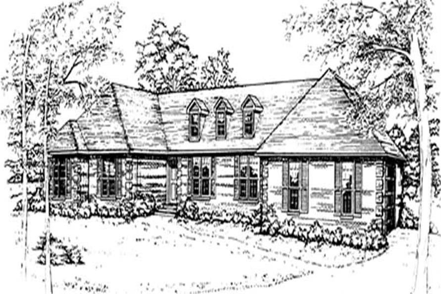 Main image for house plan # 7480