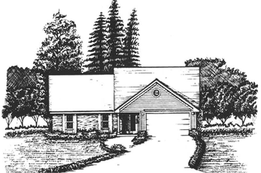 Main image for house plan # 6958