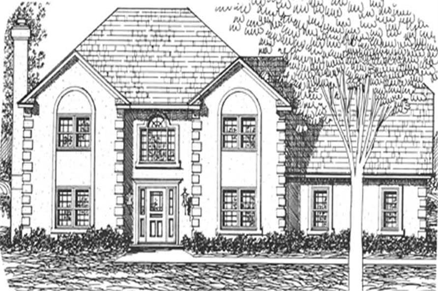 Main image for house plan # 7533