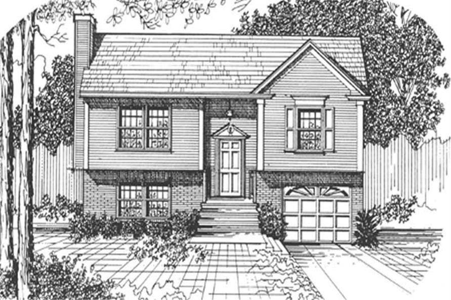 Main image for house plan # 7510