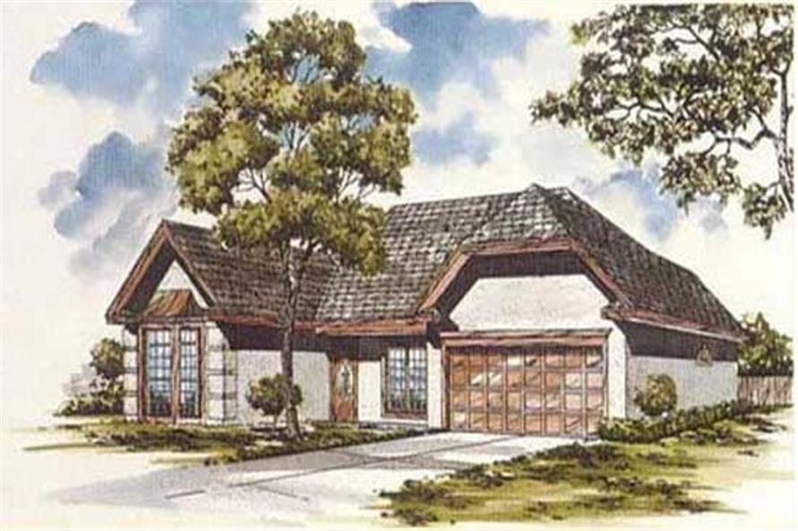 Main image for house plan # 7464