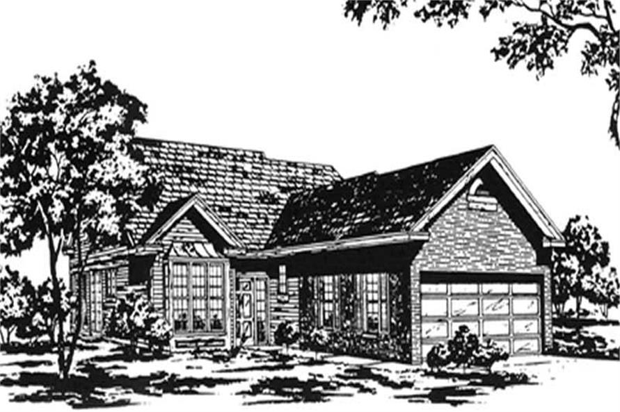 Main image for house plan # 7462