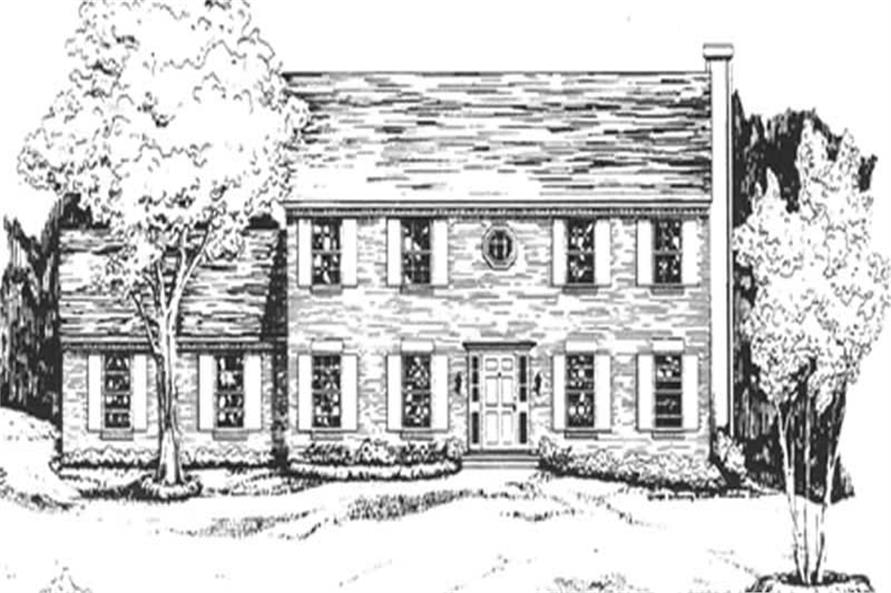 Main image for house plan # 7548