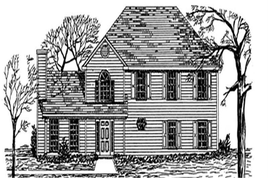 Main image for house plan # 7530