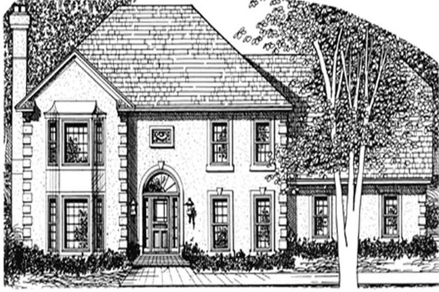 Main image for house plan # 7544