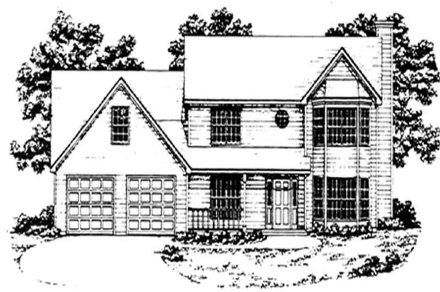 Main image for house plan # 7552