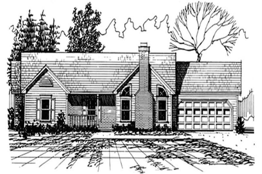 Main image for house plan # 6948