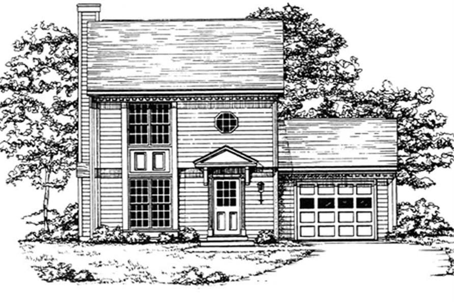 Main image for house plan # 7506