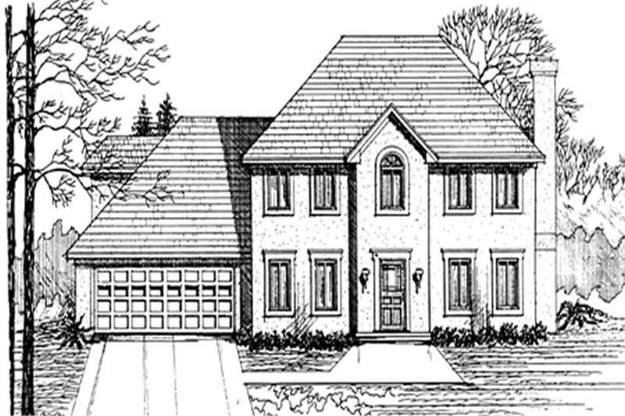 Main image for house plan # 7549