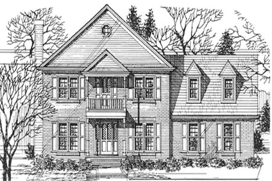 Main image for house plan # 7540