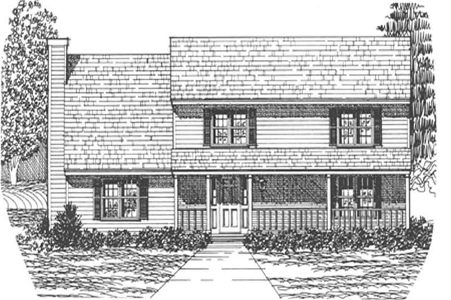 Main image for house plan # 7547