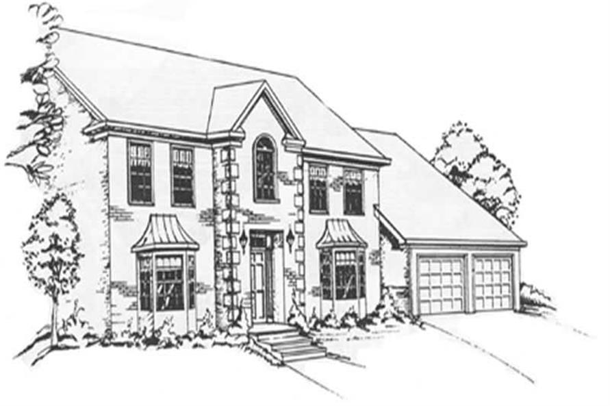 Main image for house plan # 7558