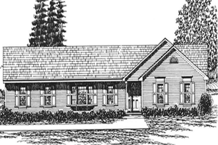 Main image for house plan # 6956
