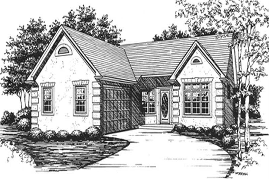 Main image for house plan # 6947