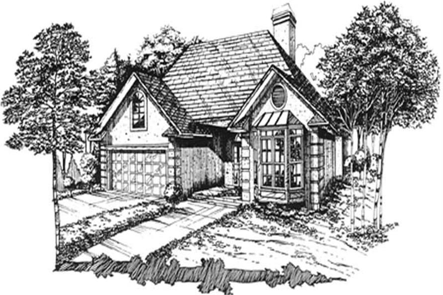 Main image for house plan # 7449