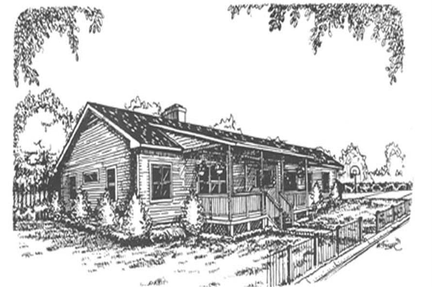 Main image for house plan # 7469