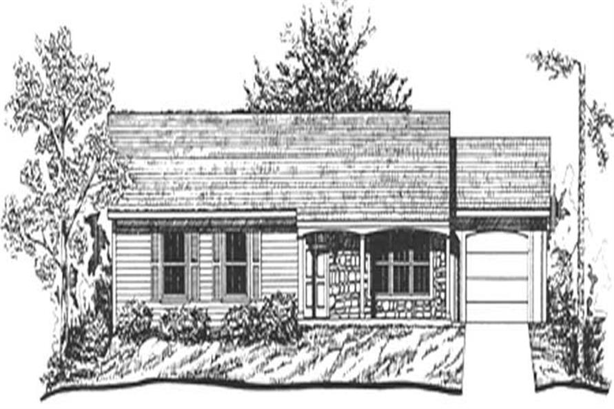 Main image for house plan # 6921