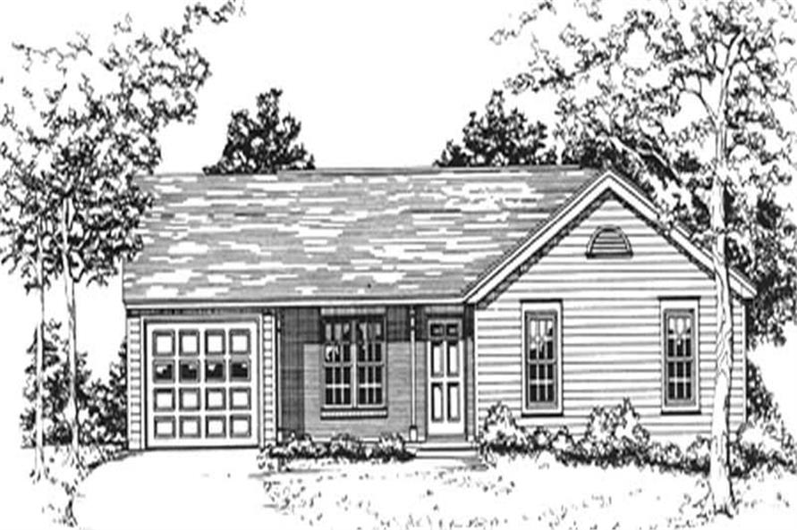 Main image for house plan # 6936