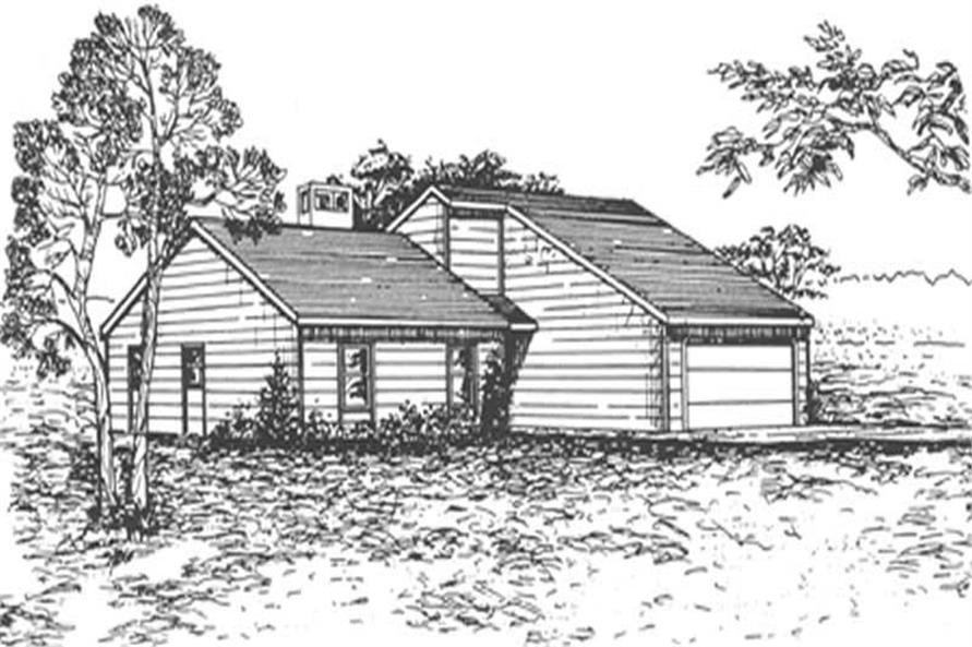 Main image for house plan # 6944