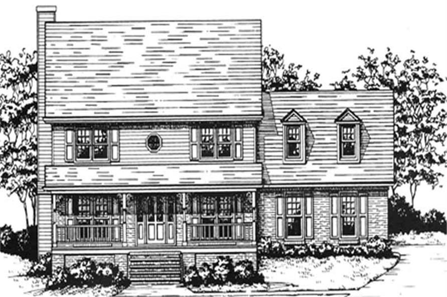 Main image for house plan # 7538