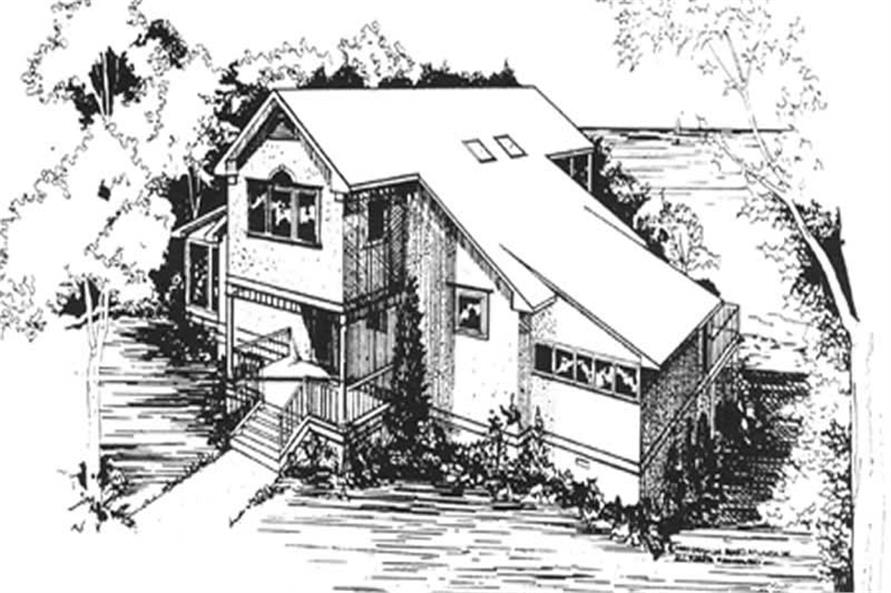 Main image for house plan # 7527