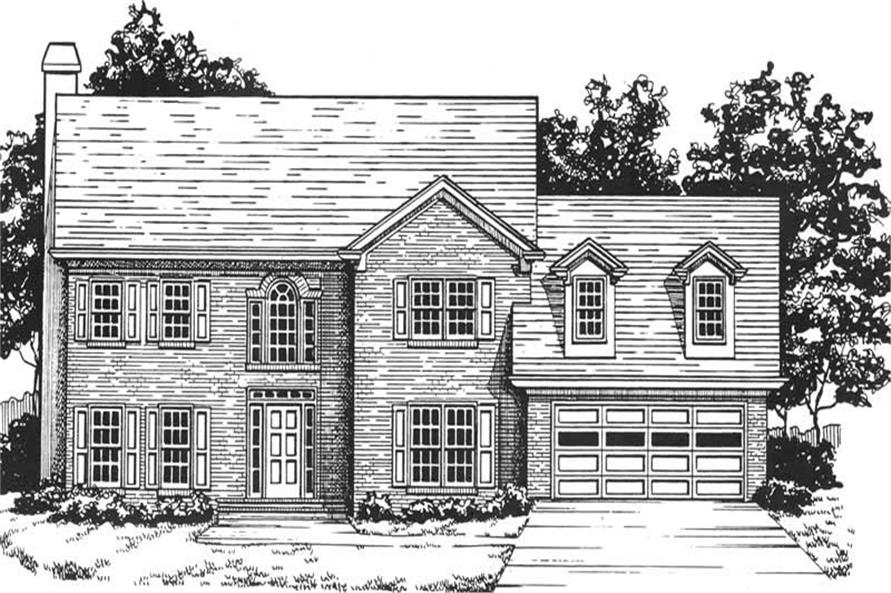 Main image for house plan # 7531