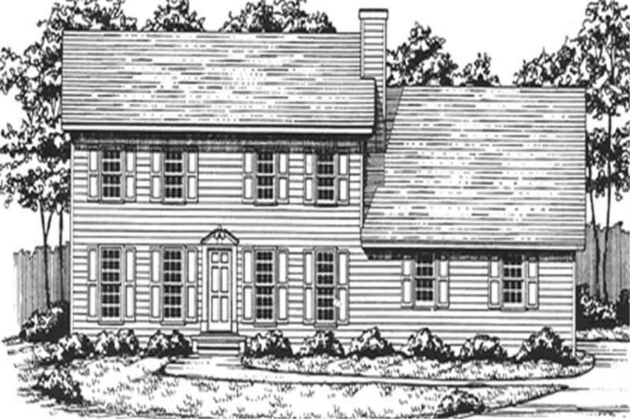 Main image for house plan # 7550