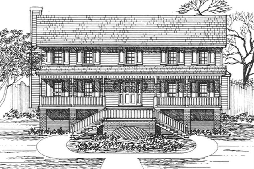 Main image for house plan # 7535