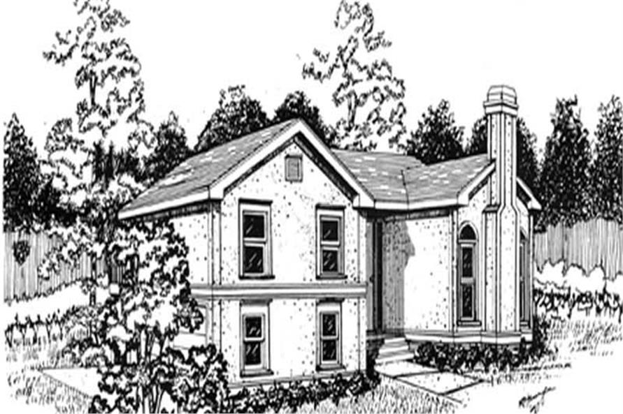Main image for house plan # 7509
