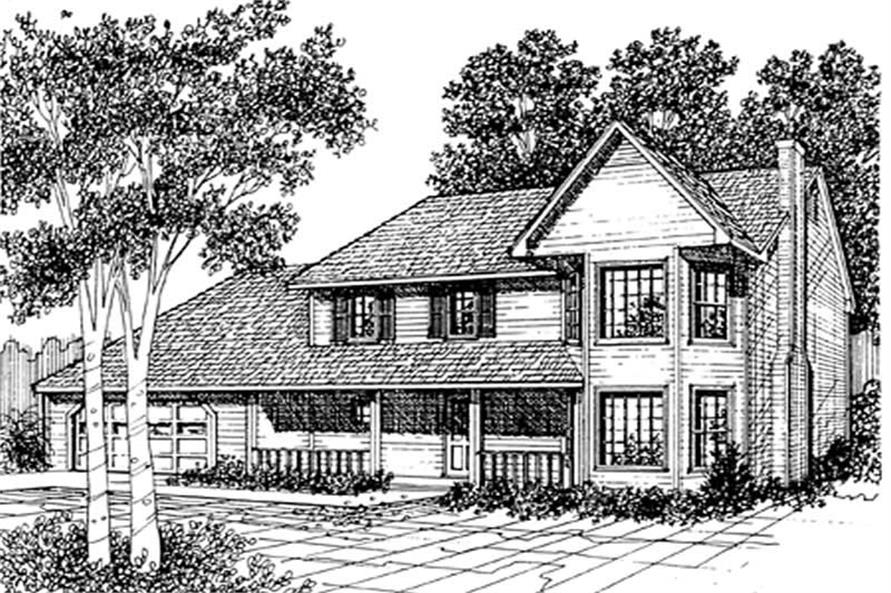 Main image for house plan # 7522