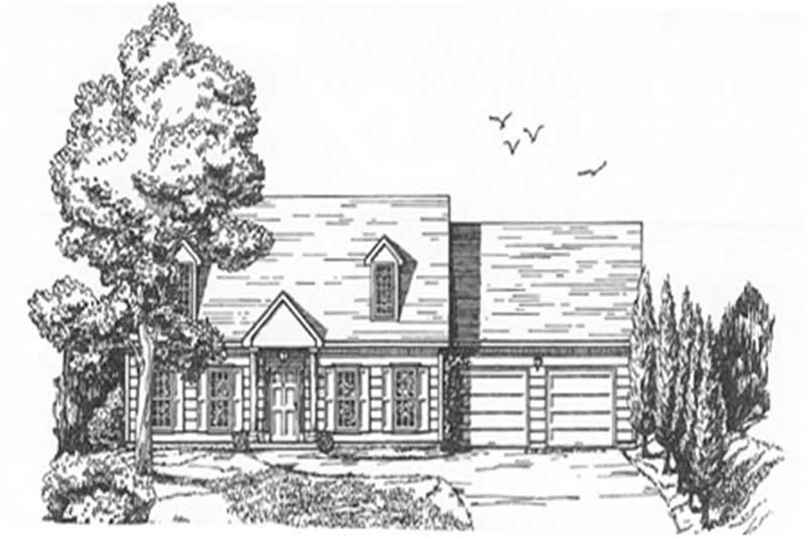 Main image for house plan # 7514