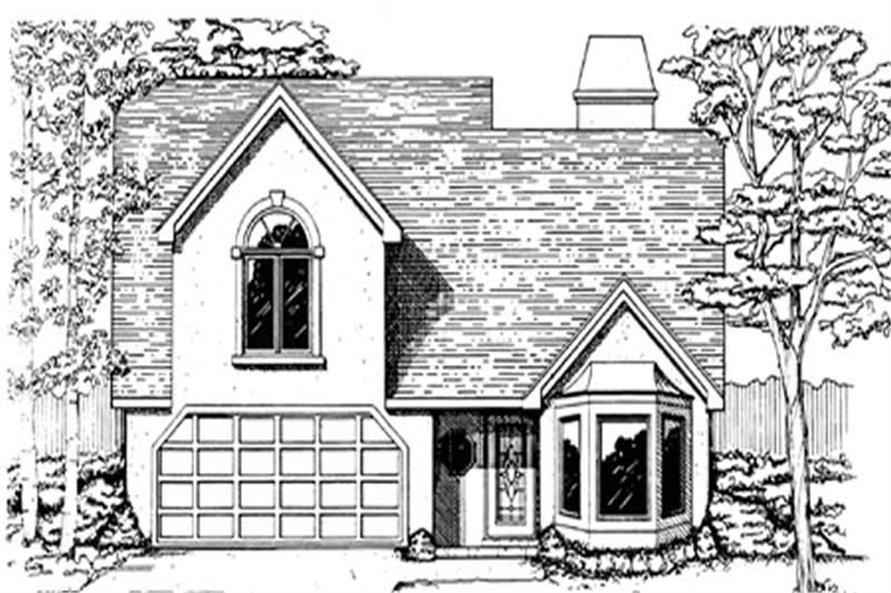 Main image for house plan # 7519