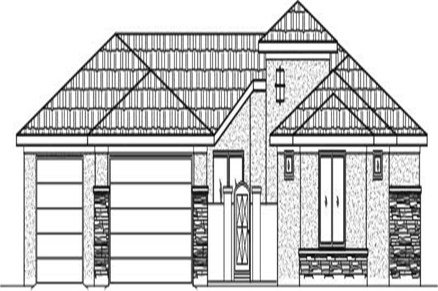 Main image for house plan # 19391